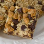 Oat, Chocolate Chip, Butterscotch Bars