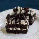 Oreo Stack Brownie
