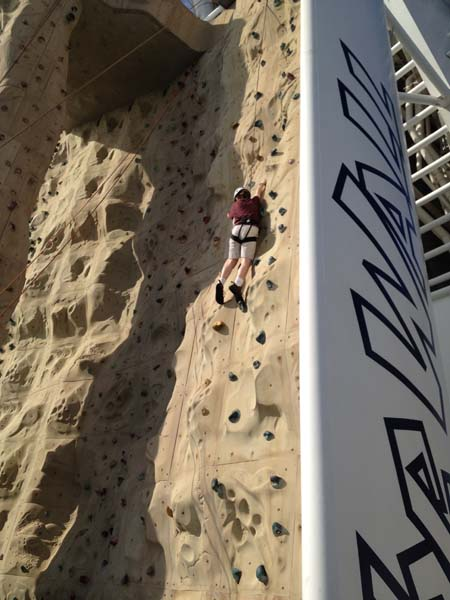 Rock Wall on Liberty of the Seas