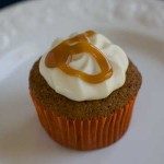 Spice Cupcakes with Whipped Cream Cheese Frosting