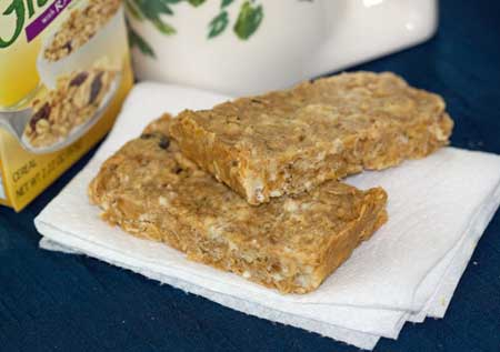 Sweet & Salty Peanut Bars