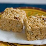 butterscotch rice krispies squares