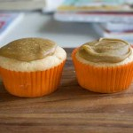 Caramel Frosted Cupcakes