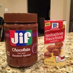 JIF chocolate hazelnut spread