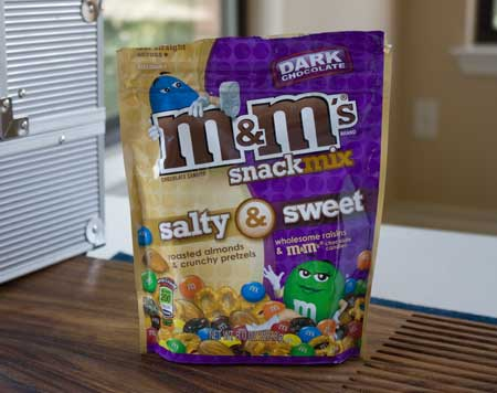 M&Ms Sweet & Salty Snack Mix