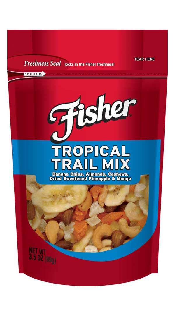 Tropical Trail Mix from Fisher Nuts