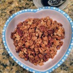 Applesauce and Agave Granola