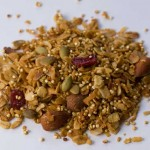 Granola with quinoa