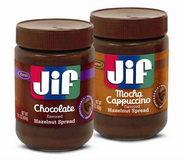 Jif Chocolate Hazelnut Flavored Spread