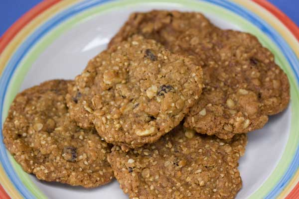 Steel Cut Oat Oatmeal Cookies