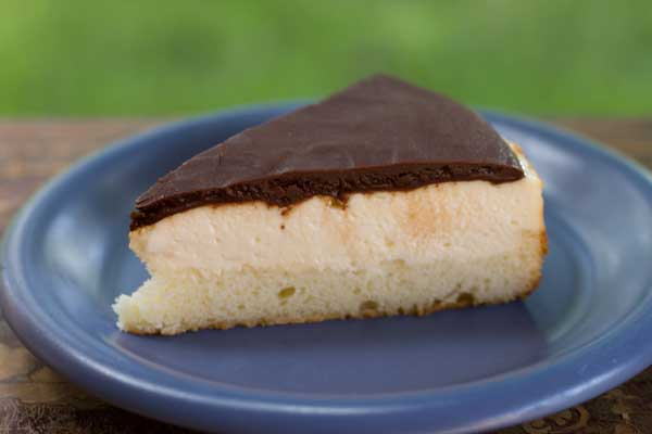 Boston Cream Cheesecake - Cookie Madness