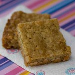 Butterscotch, Walnut and Oat Bars