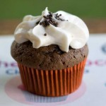 Hey There, Chocolate Cupcakes with Vanilla Icing