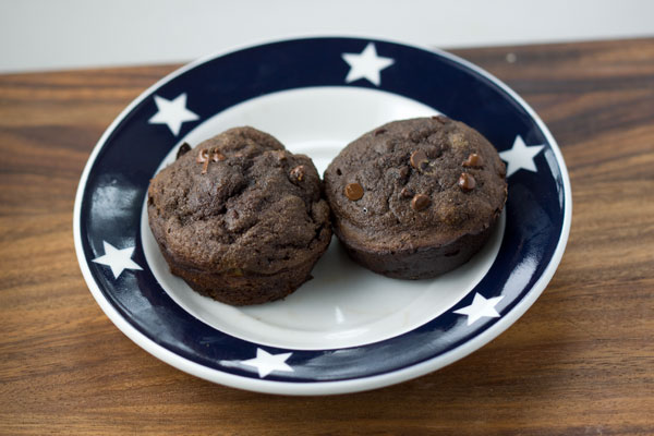 Coconut Flour Chocolate Muffins