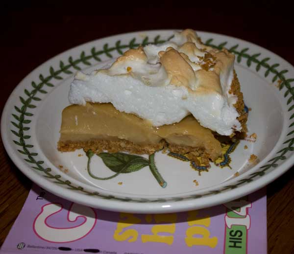 Sue's Butterscotch Pie
