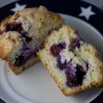 Cream Cheese Blueberry Muffin