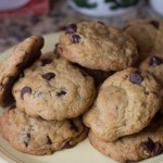 All-Bran Cereal Box Chocolate Chip Cookies