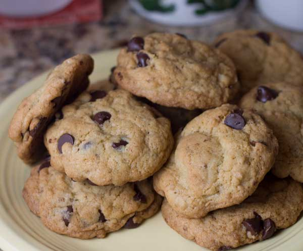 All-Bran Chocolate Chip Cookies from the Cereal Box