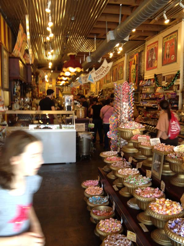 Big Top Candy Store