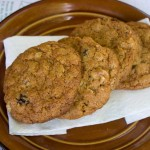 One Bowl Oatmeal Raisin Cookies