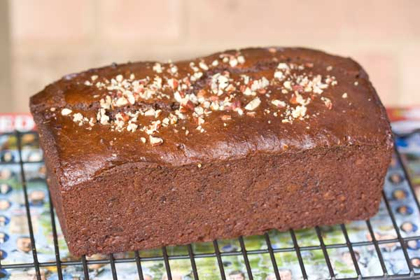Double Chocolate Apple Butter Bread
