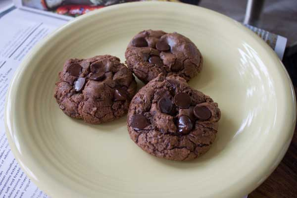 Food and Wine Chocolate Brownie Cookies