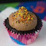 Black Magic Mousse Topped Cupcakes