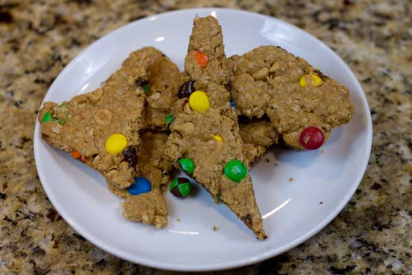 Monster Cookie Bark