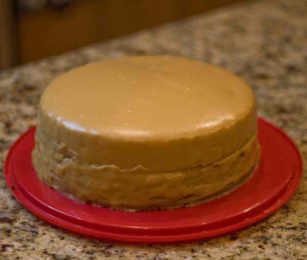 How To Make Caramel Cake Icing With Condensed Milk
