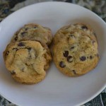 Chocolate Chip Cookies Made With Clarified Butter