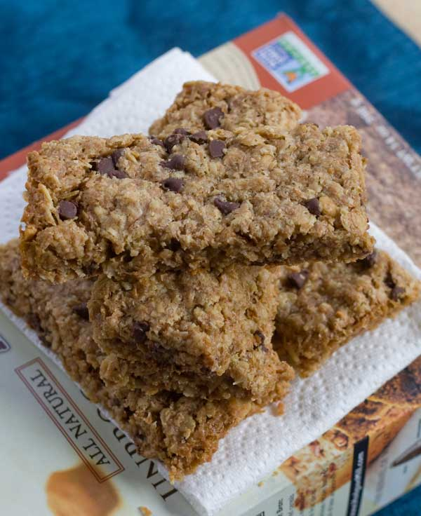 Chewy Wheat Bran Granola Bars