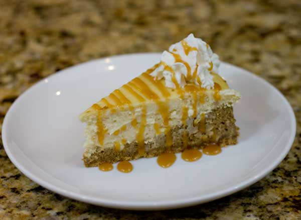 Coffeehouse Caramel Macchiato Cheesecake