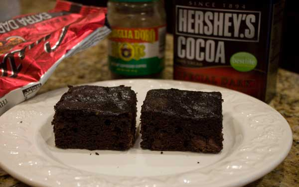 Reduced Fat Brownie