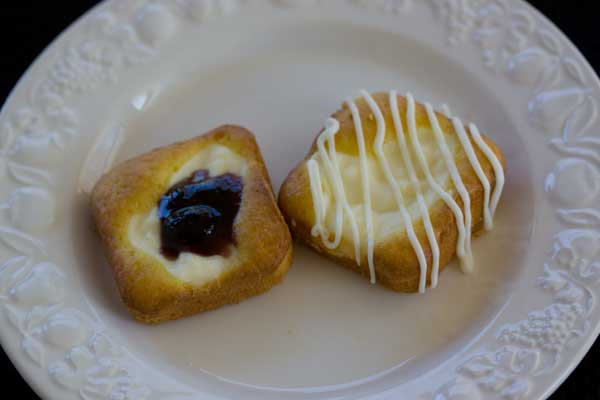 Lemon Cheesecake Squares or Cheese Danish Squares
