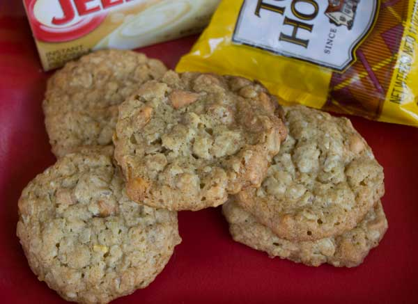 Instant Pudding Mix Oatmeal Cookies