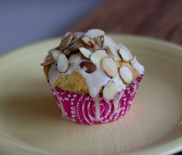 White Lily Orange Cranberry Crunch Muffins