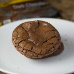 Double Chocolate Cookies with White Lily