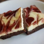 white c hocolate raspberry brownies