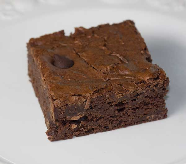 glass dish brownies