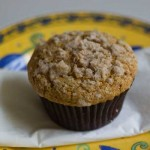 Basic Pumpkin Muffins with Streusel Topping