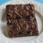 melted-marshmallow-brownies