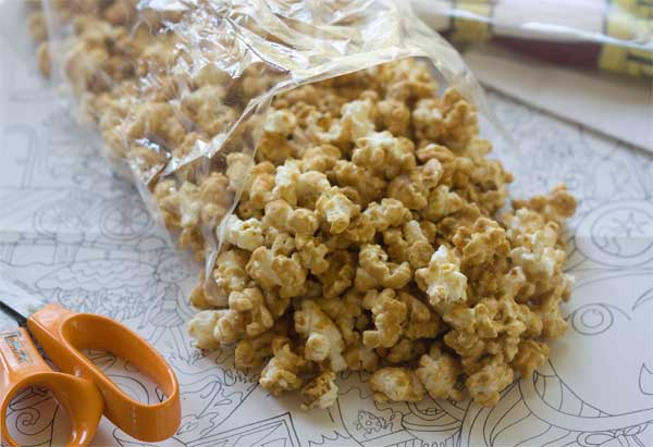 Maple Cashew Caramel Corn