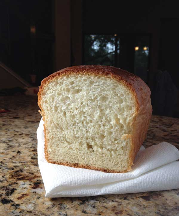Basic White Bread Without A Bread Machine