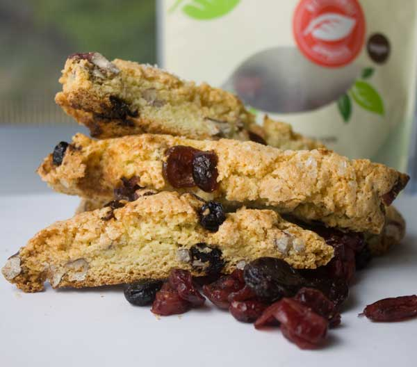 NatureBox Cherry Berry Bonanza Biscotti