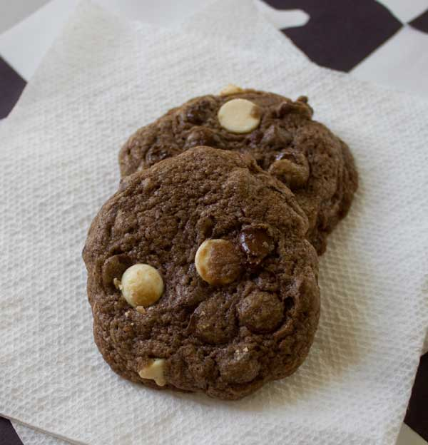 Gourmet Double Chocolate Cookies — Disney's Main Street Bakery