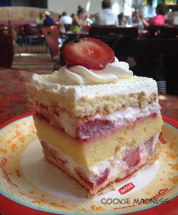 Strawberry Shortcake Recipe Like the Kind from Disney's Sunshine Seasons