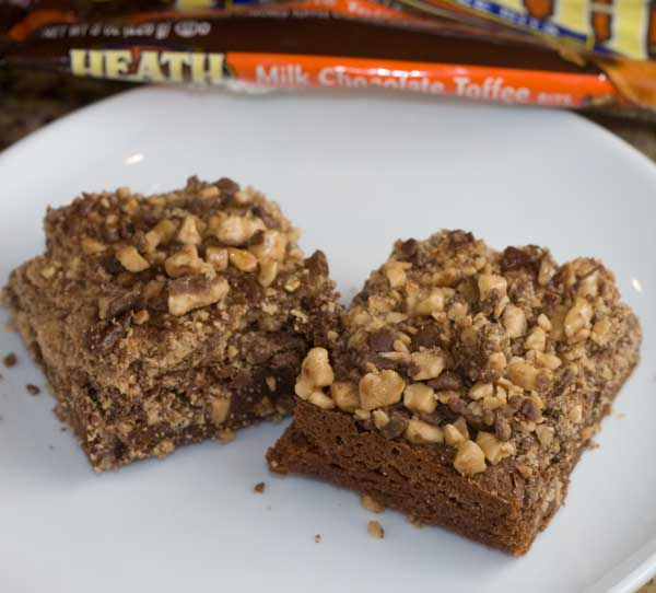 Heath Bar Brownies