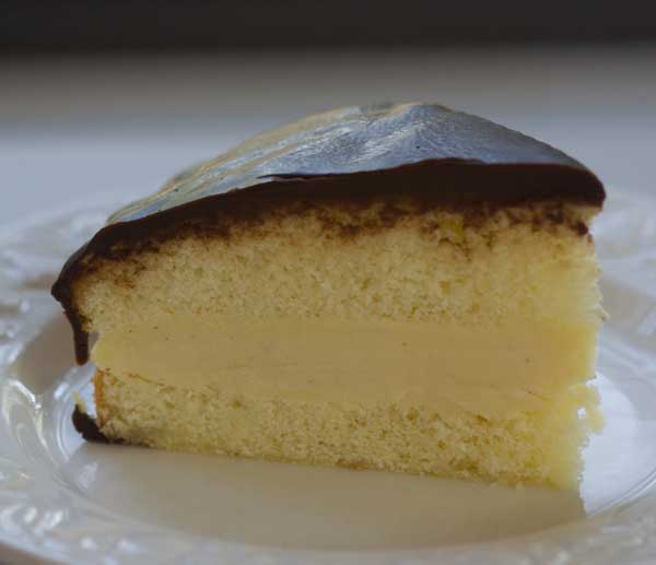 Boston Cream Cake From Scratch