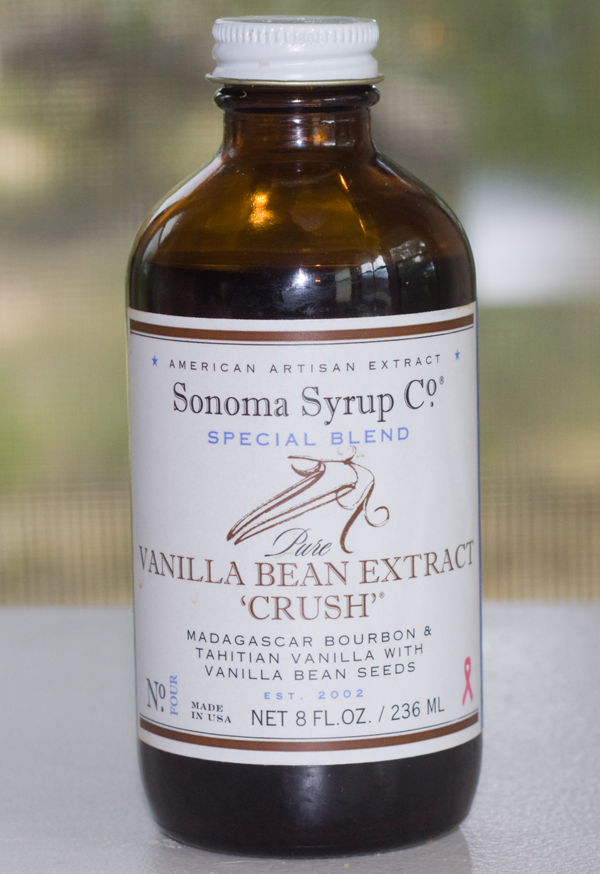 "Sonoma Syrup Company Vanilla Bean Extract ""Crush"" Review and Tahitian Vanilla Ice Cream"