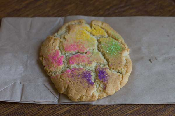 Big Chewy Sugar Cookies